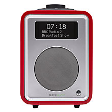 Buy Ruark R1 MK3 DAB Bluetooth Digital Radio, Soft Red, Limited Edition Online at johnlewis.com