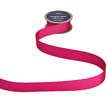 Buy John Lewis Grosgrain Ribbon, 5m, Paris Pink Online at johnlewis.com