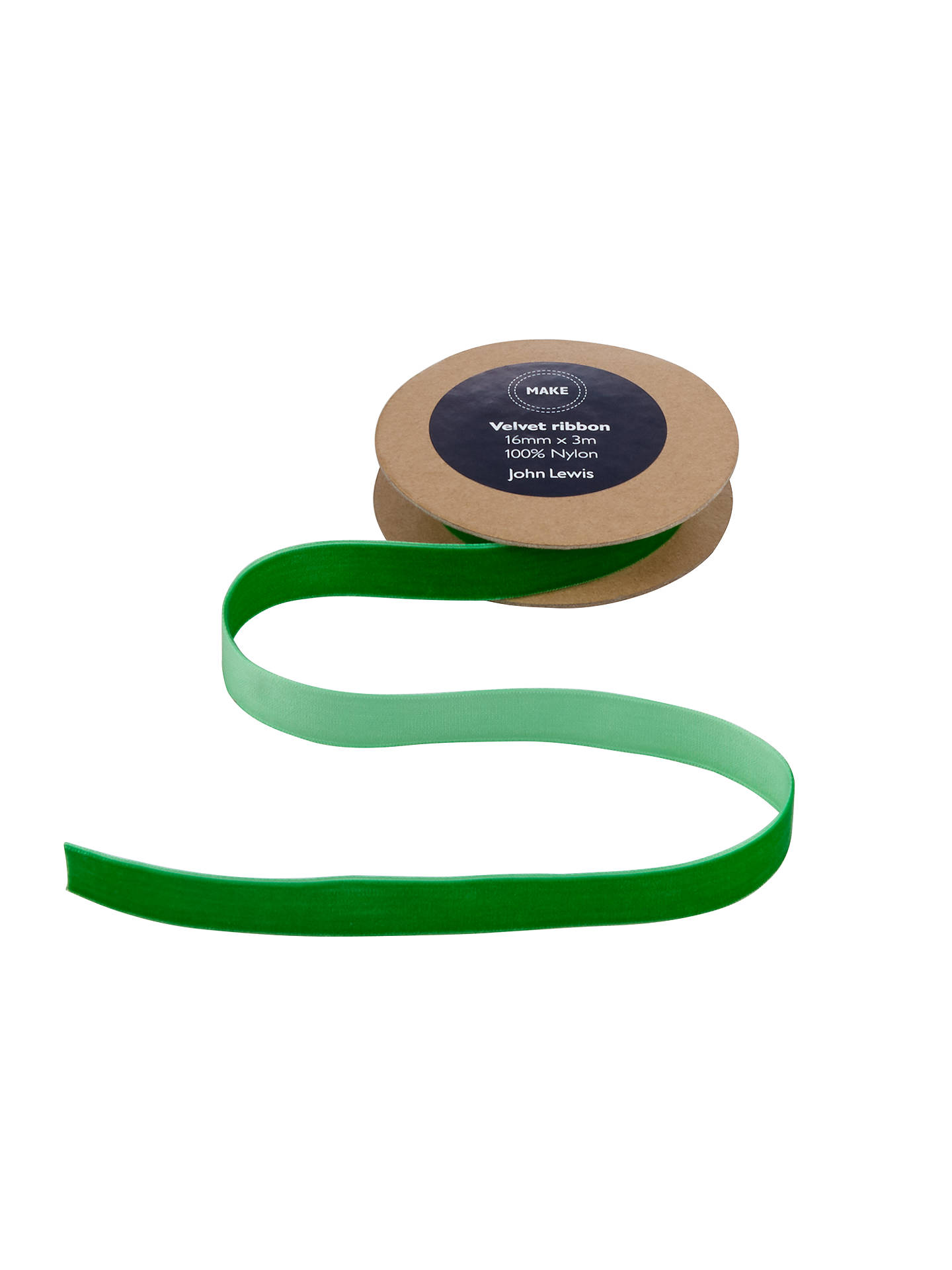 Emerald green velvet ribbon
