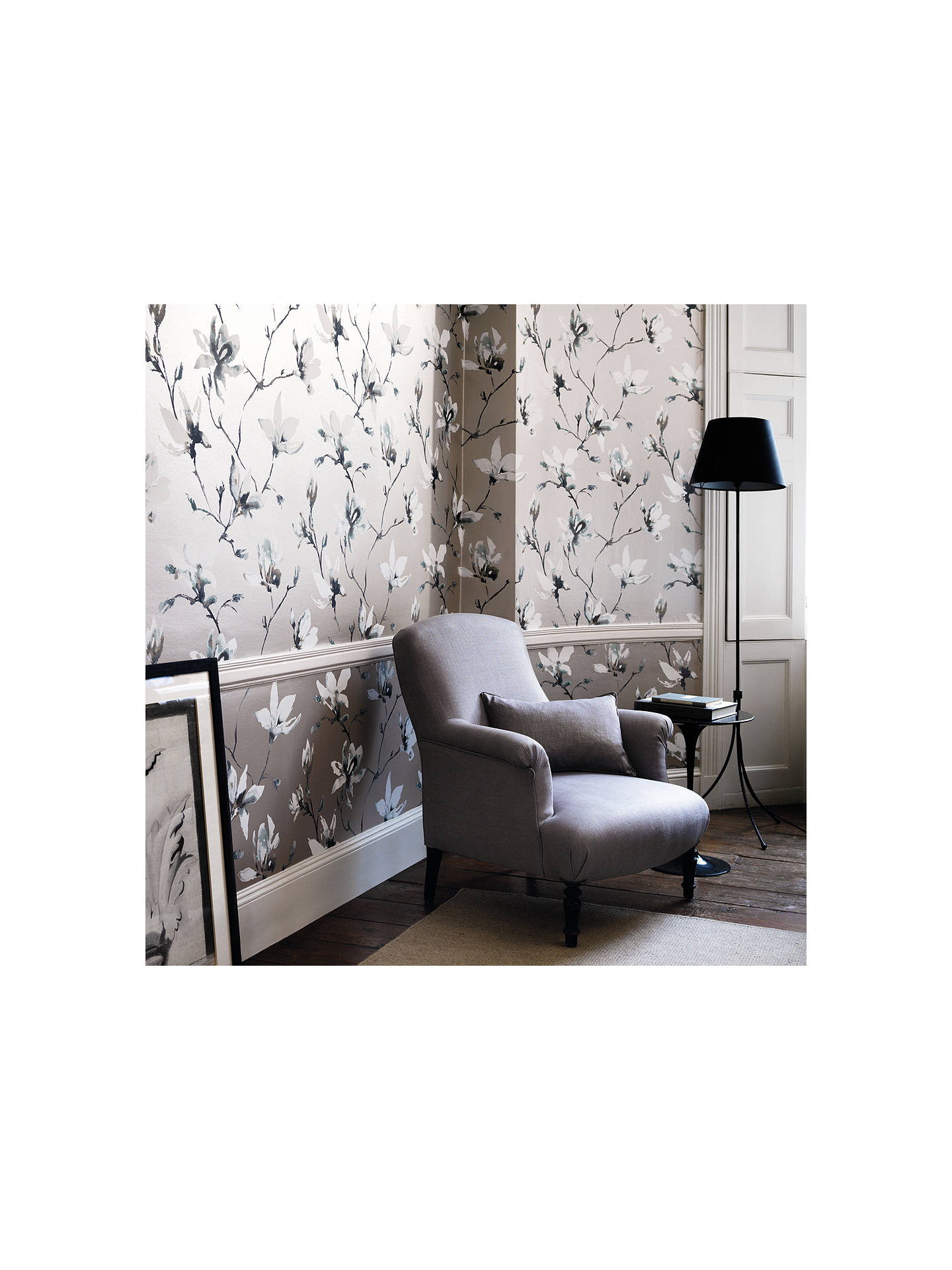Buy Romo Saphira Paste the Wall Wallpaper, Nickel W405/02 Online at johnlewis.com