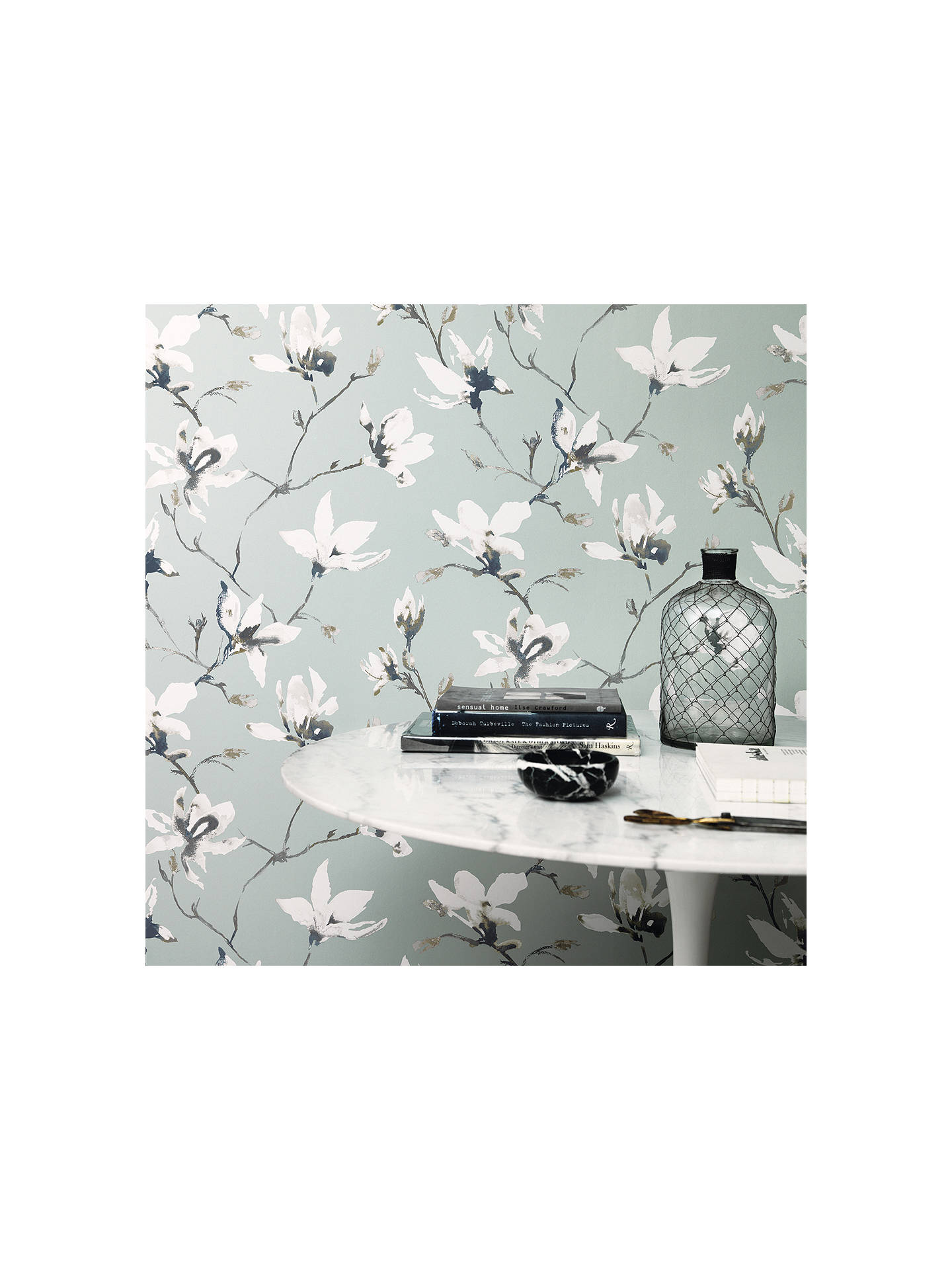 Buy Romo Saphira Paste the Wall Wallpaper, Lovat W405/03 Online at johnlewis.com