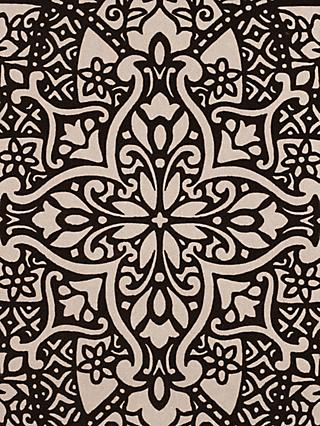 Black Edition Byzantine Flock Paste the Wall Wallpaper