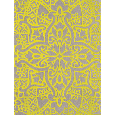 Image of Black Edition Byzantine Flock Paste the Wall Wallpaper