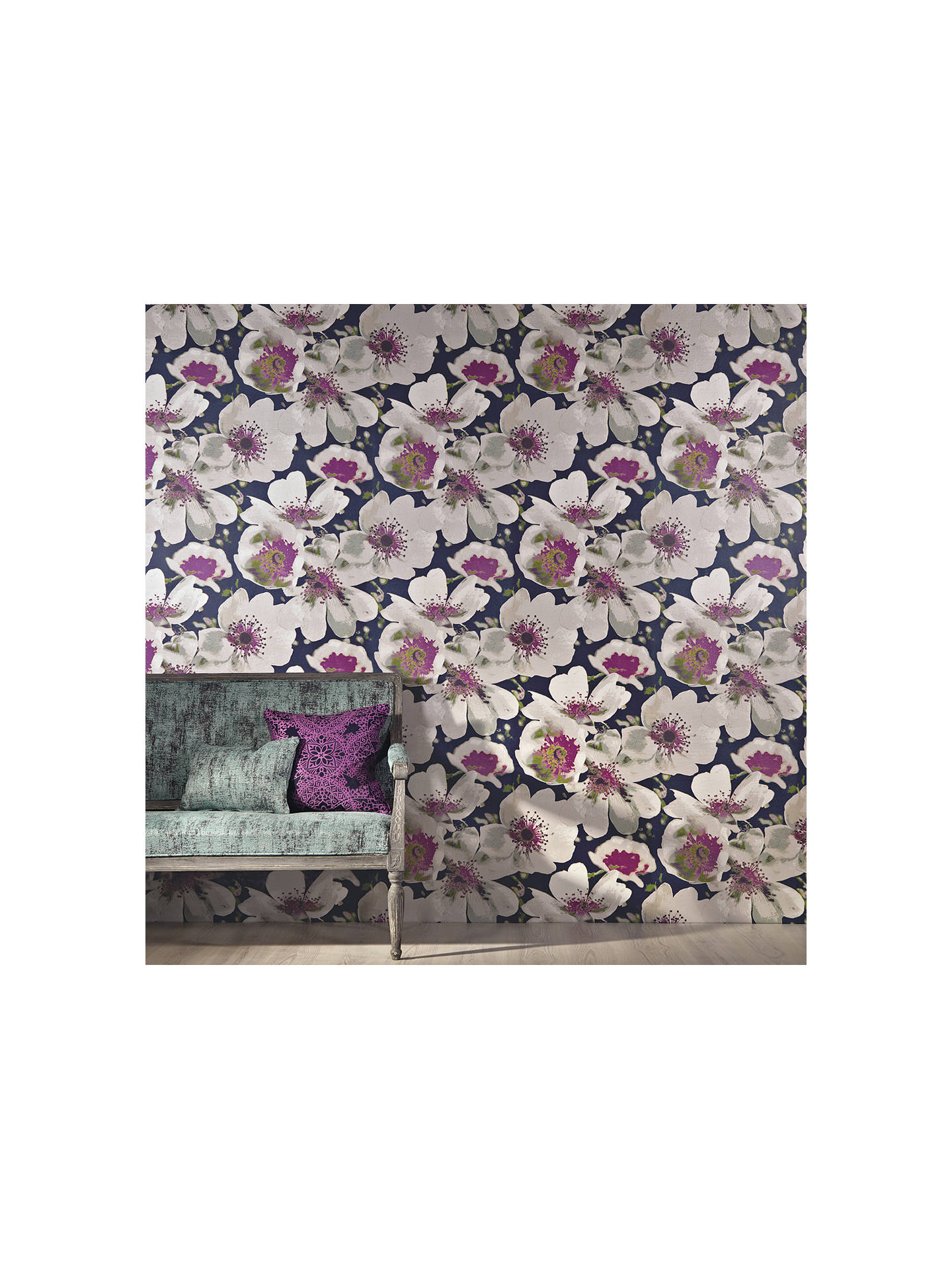BuyBlack Edition Eden Paste the Wall Wallpaper, Verbena W362/03 Online at johnlewis.com