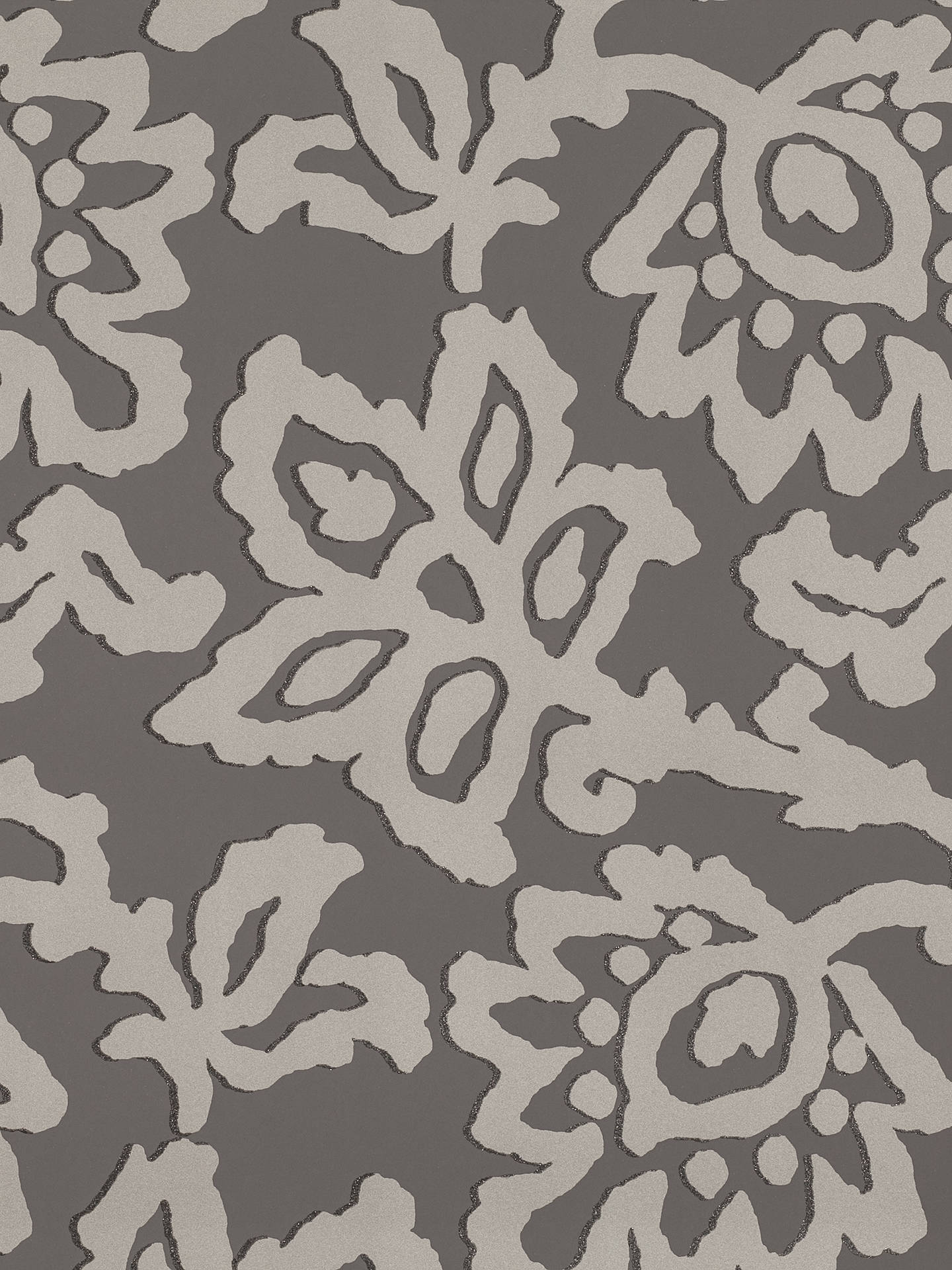 Buy Black Edition Elysian Paste the Wall Wallpaper, Steeple Grey W369/06 Online at johnlewis.com