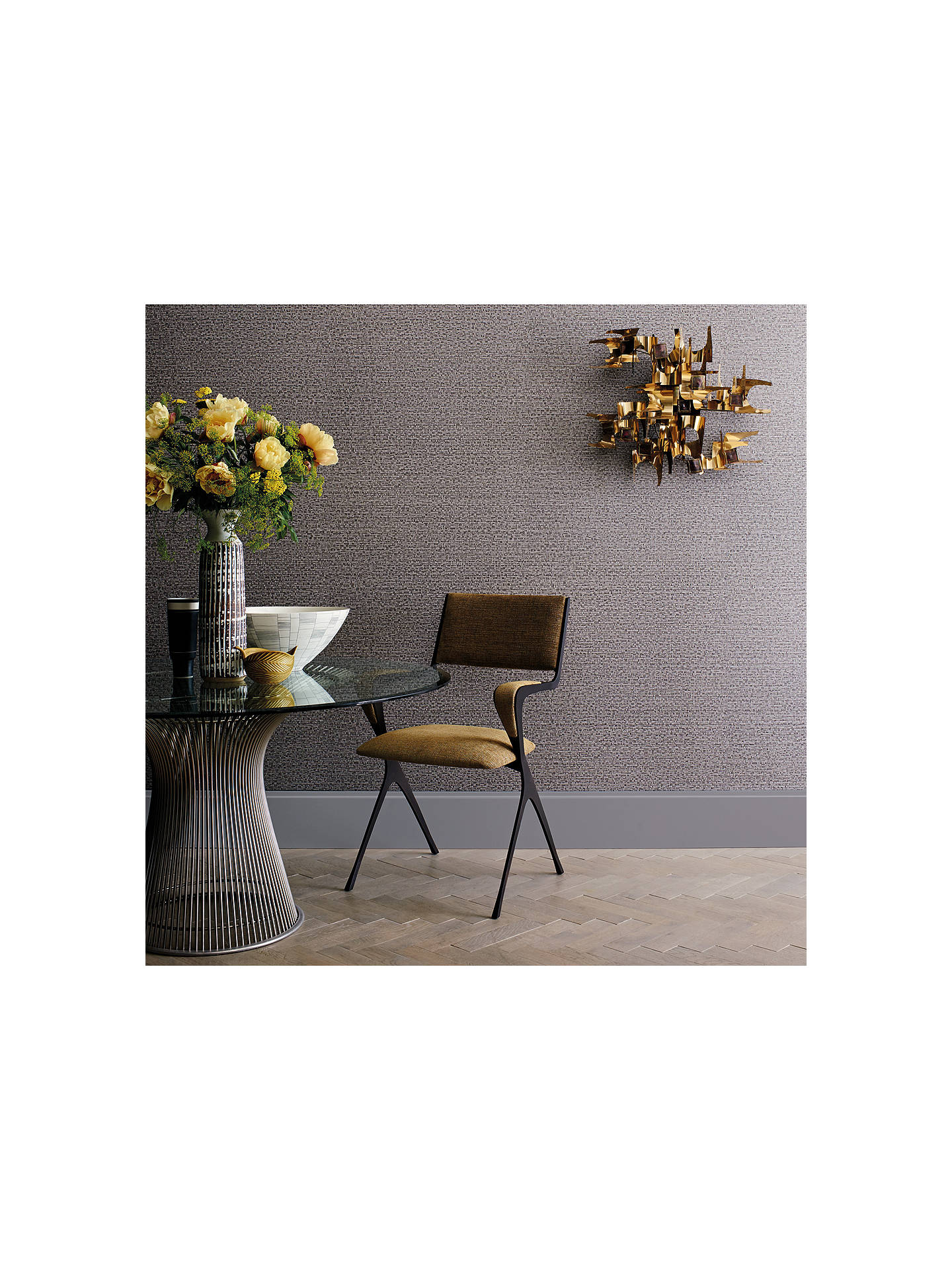 BuyBlack Edition Himara Paste the Wall Wallpaper, Anthracite W901/07 Online at johnlewis.com