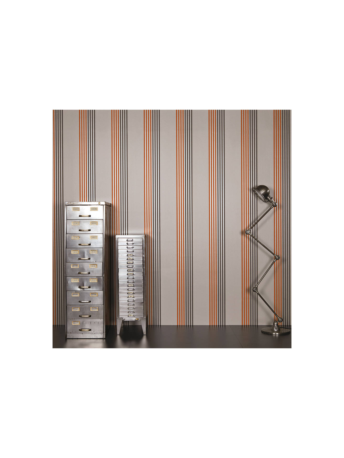 BuyBlack Edition Palladio Paste the Wall Wallpaper, Clementine W370/04 Online at johnlewis.com