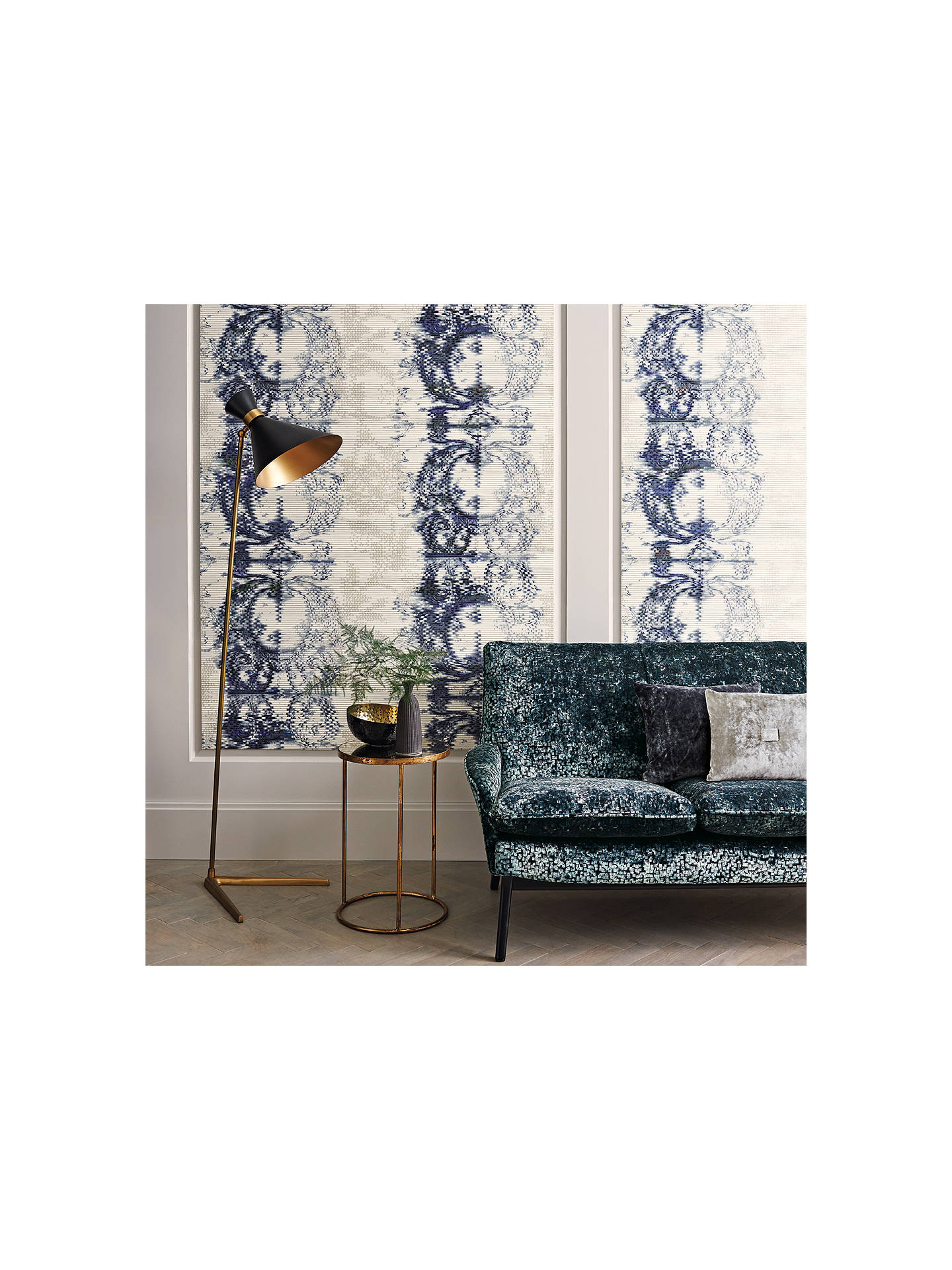 Buy Black Edition Papiro Paste the Wall Wallpaper, Ink W904/04 Online at johnlewis.com