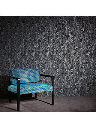 Buy Black Edition Silva Paste the Wall Wallpaper, Carbon W372/04 Online at johnlewis.com