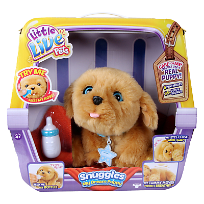 Image of Little Live Pets Snuggles My Dream Puppy