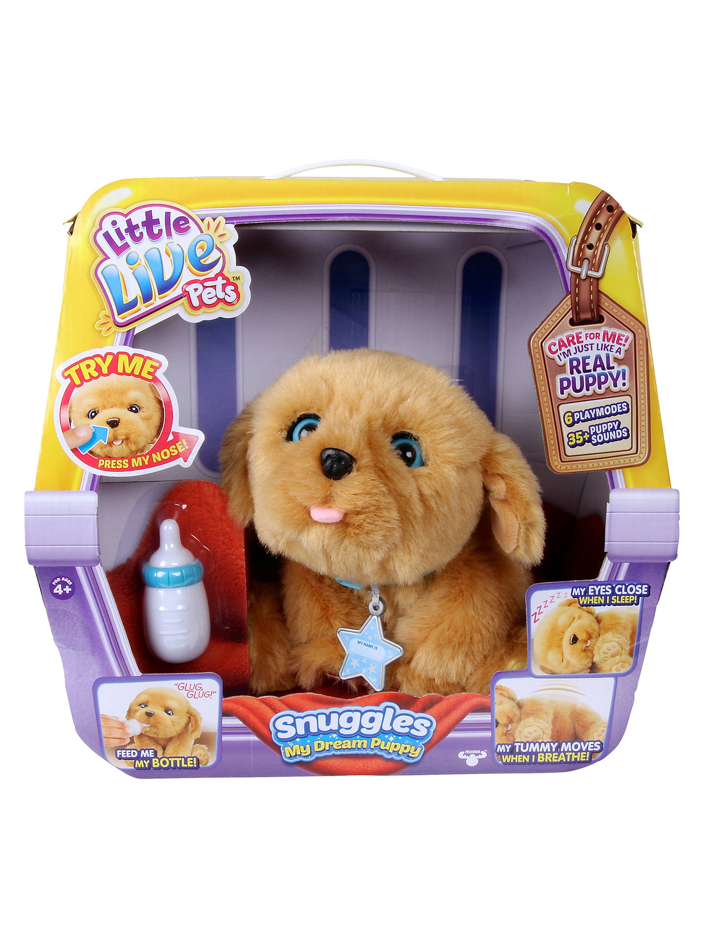 BuyLittle Live Pets Snuggles My Dream Puppy Online at johnlewis.com