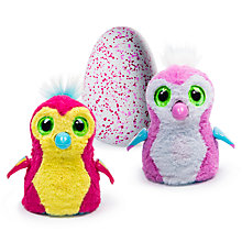 Buy Hatchimals Penguala Pink Egg Online at johnlewis.com