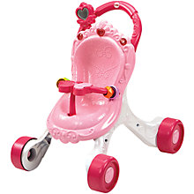 Buy Fisher-Price Princess Mommy Stroll-Along Musical Walker Online at johnlewis.com