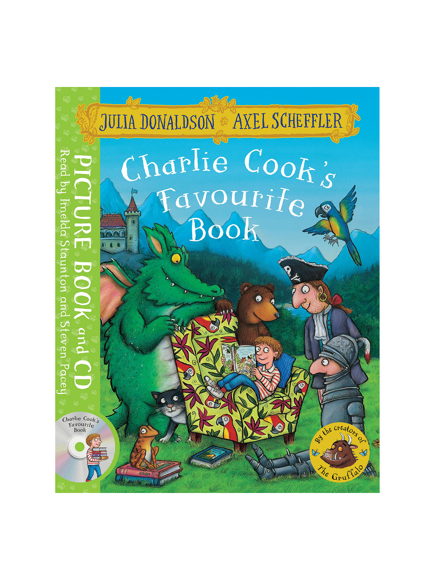 Buy Charlie Cook's Favourite Book Children's Book Online at johnlewis.com