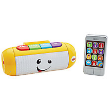 Buy Fisher-Price Laugh & Learn Light Up Learning Speaker Online at johnlewis.com
