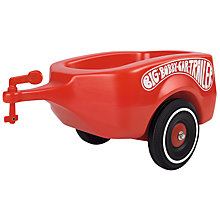 Buy Smoby Big Bobby Car Trailer Online at johnlewis.com