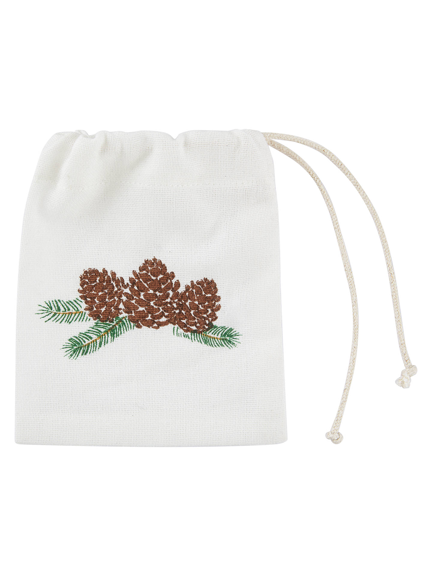 BuyJohn Lewis Ruskin House Pinecone Cutlery Bag Online at johnlewis.com