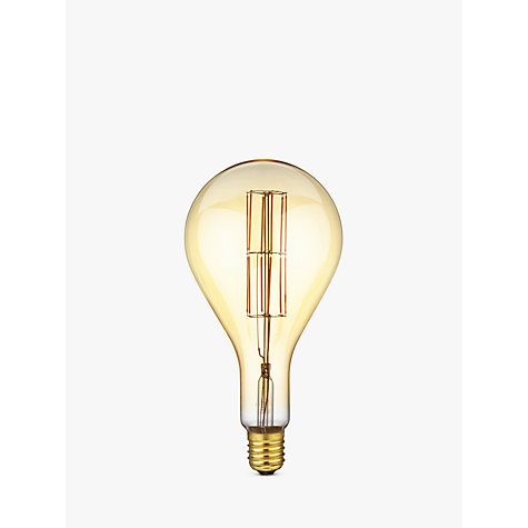 Buy Calex XXL E40 Dimmable Filament Splash Bulb, Gold Online at johnlewis.com