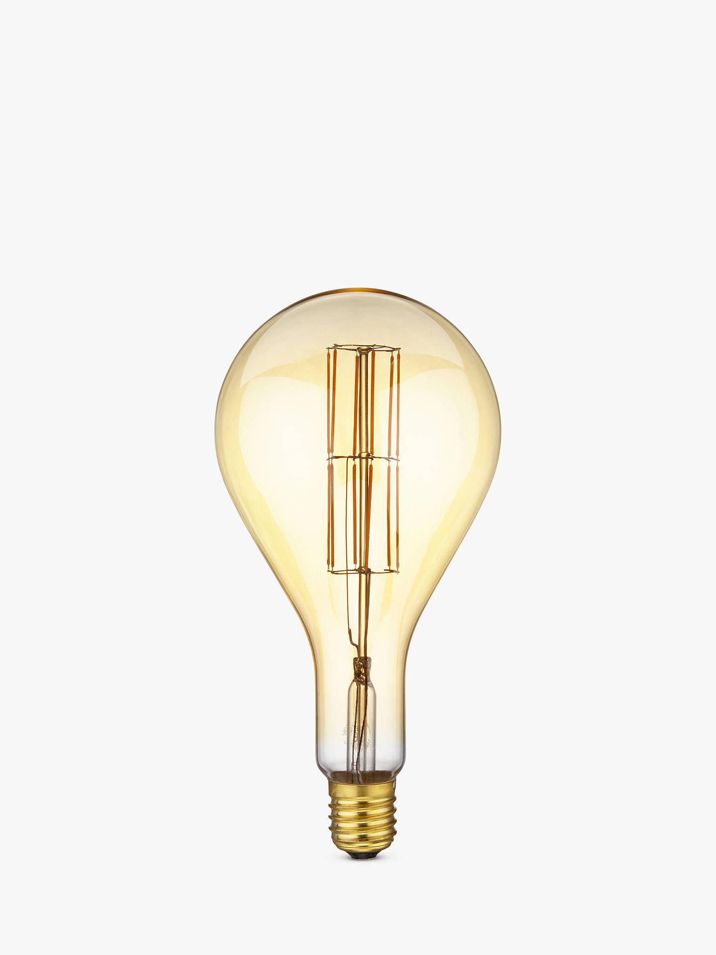 BuyCalex XXL E40 Dimmable Filament Splash Bulb, Gold Online at johnlewis.com