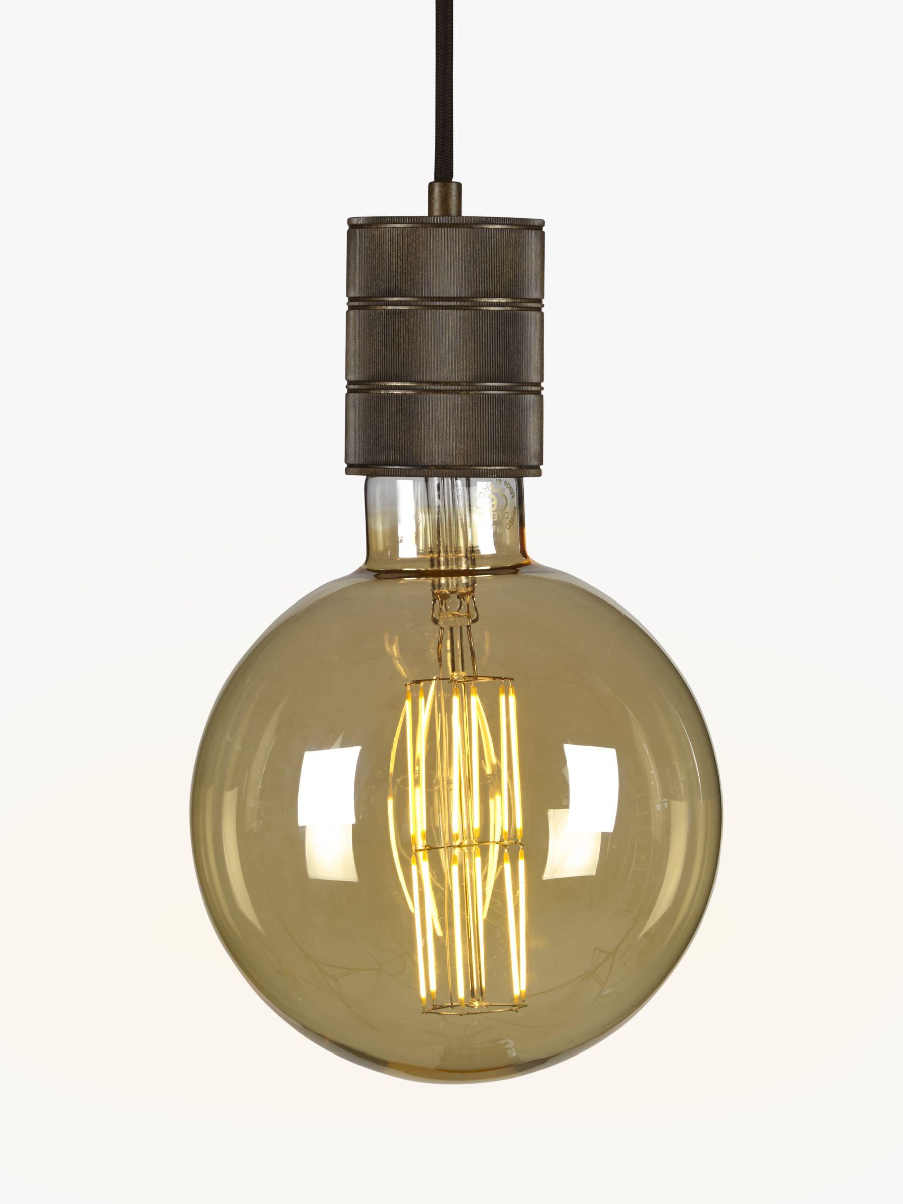 Calex Calex XXL E40 Dimmable Filament Globe Bulb, Gold