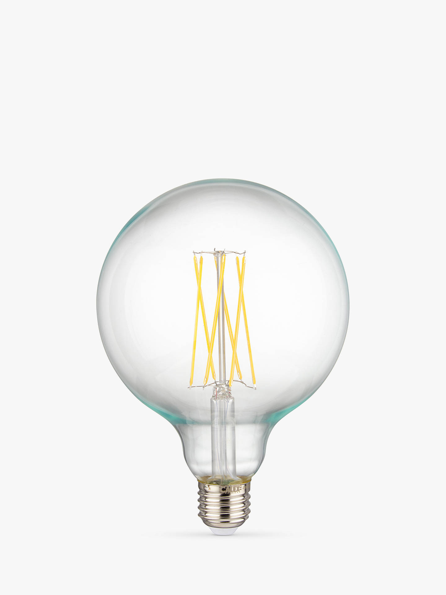 BuyCalex 4W ES Dimmable Globe LED Filament Bulb, Clear Online at johnlewis.com