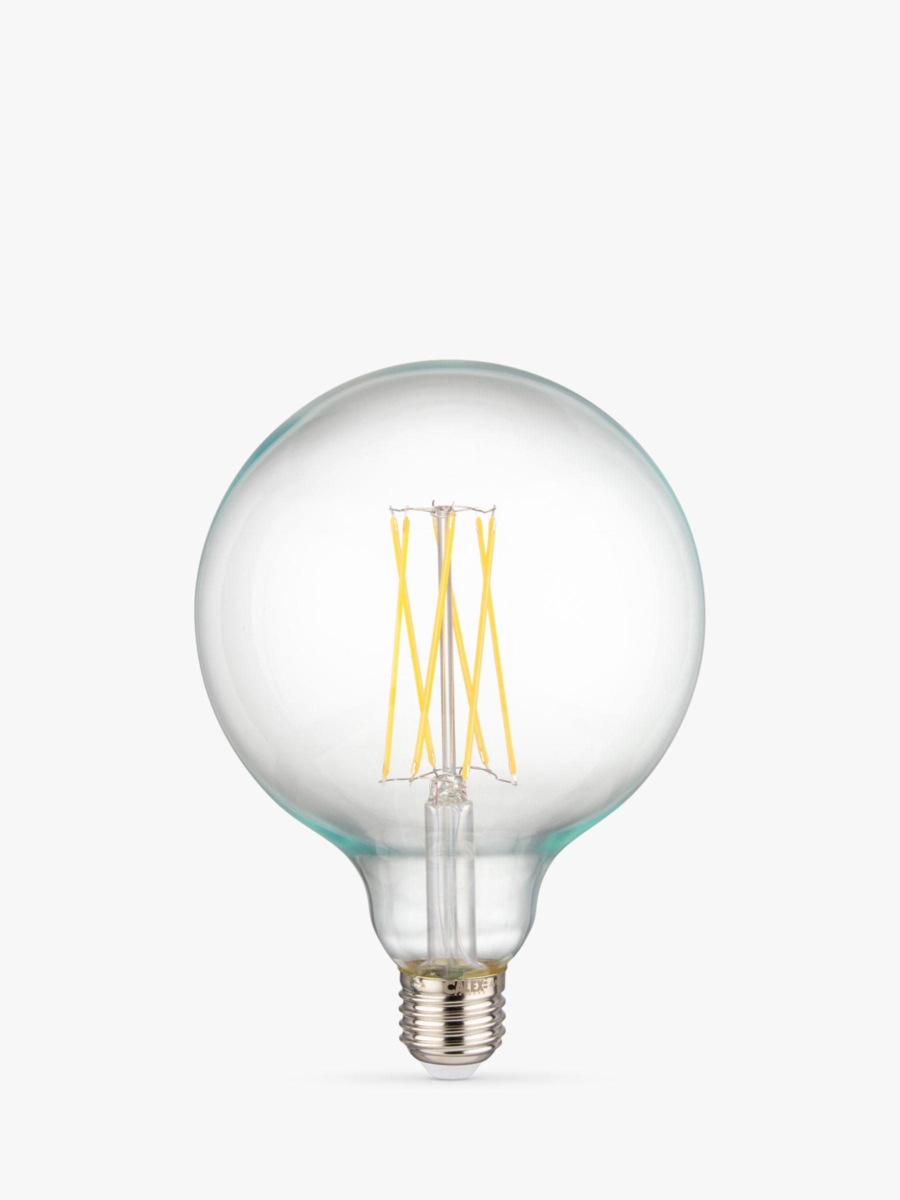 Calex Calex 4W ES Dimmable Globe LED Filament Bulb, Clear
