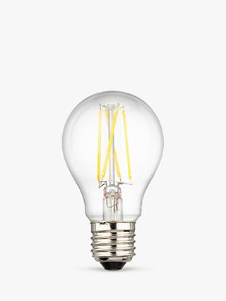 Calex 7W ES LED Filament Classic Bulb, Clear