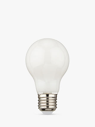 Buy Calex 7W ES LED Dimmable Filament Bulb, Opal Glass Online at johnlewis.com