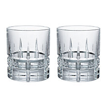 Buy Social by Jason Atherton Handcut Cut Crystal Glass Double Old Fashioned Tumbler, 300ml, Set of 2 Online at johnlewis.com