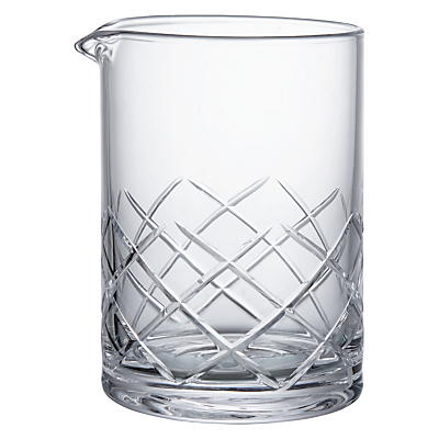 Product photo of Social by jason atherton cut crystal glass mixing jug 500ml