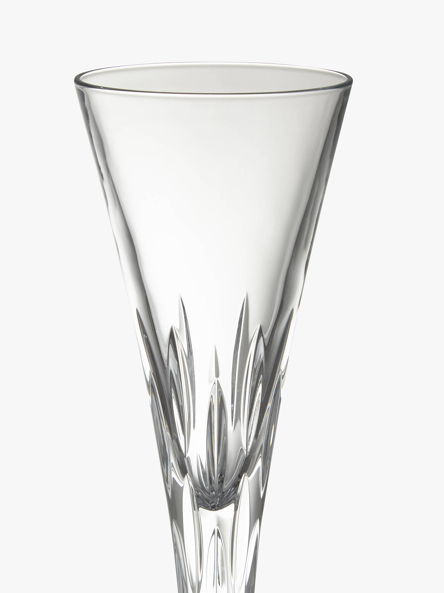 BuyJohn Lewis & Partners Halley Crystal Toasting Flutes, Set of 2 Online at johnlewis.com