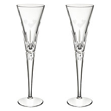 Buy John Lewis Adore Toasting Champagne Flutes, Set of 2 Online at johnlewis.com