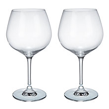 Buy Social by Jason Atherton Cut Crystal Gin Glasses, 610ml, Set of 2 Online at johnlewis.com