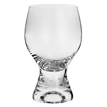 Buy John Lewis Curve Red Wine Glass, Clear, 340ml Online at johnlewis.com