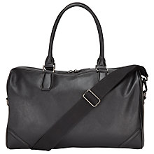 Buy John Lewis Barbican Holdall, Black Online at johnlewis.com