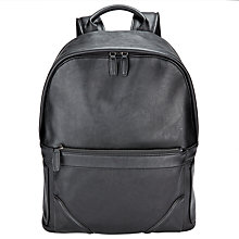 Buy John Lewis Barbican Backpack, Black Online at johnlewis.com