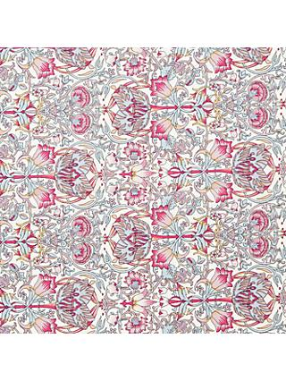 John Lewis & Partners Art Deco Print Fabric, Pink