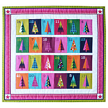 Buy Makower UK Wrap It Up Advent Panel Fabric, Multi Online at johnlewis.com
