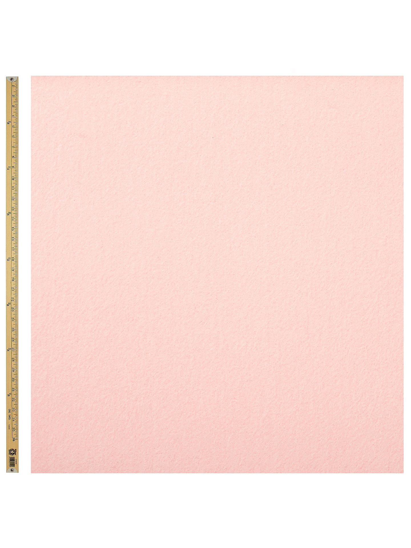 Buy Coat Material Fabric, Pale Pink Online at johnlewis.com