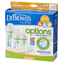 Buy Dr Brown's Options Starter Pack Online at johnlewis.com