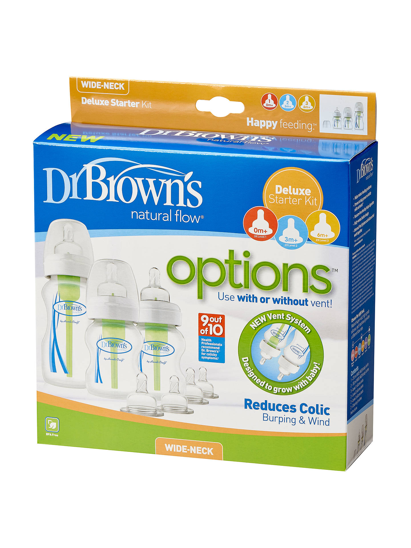 BuyDr Brown's Options Starter Pack Online at johnlewis.com