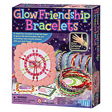 Buy Great Gizmos Glow Friendship Bracelets Kit Online at johnlewis.com