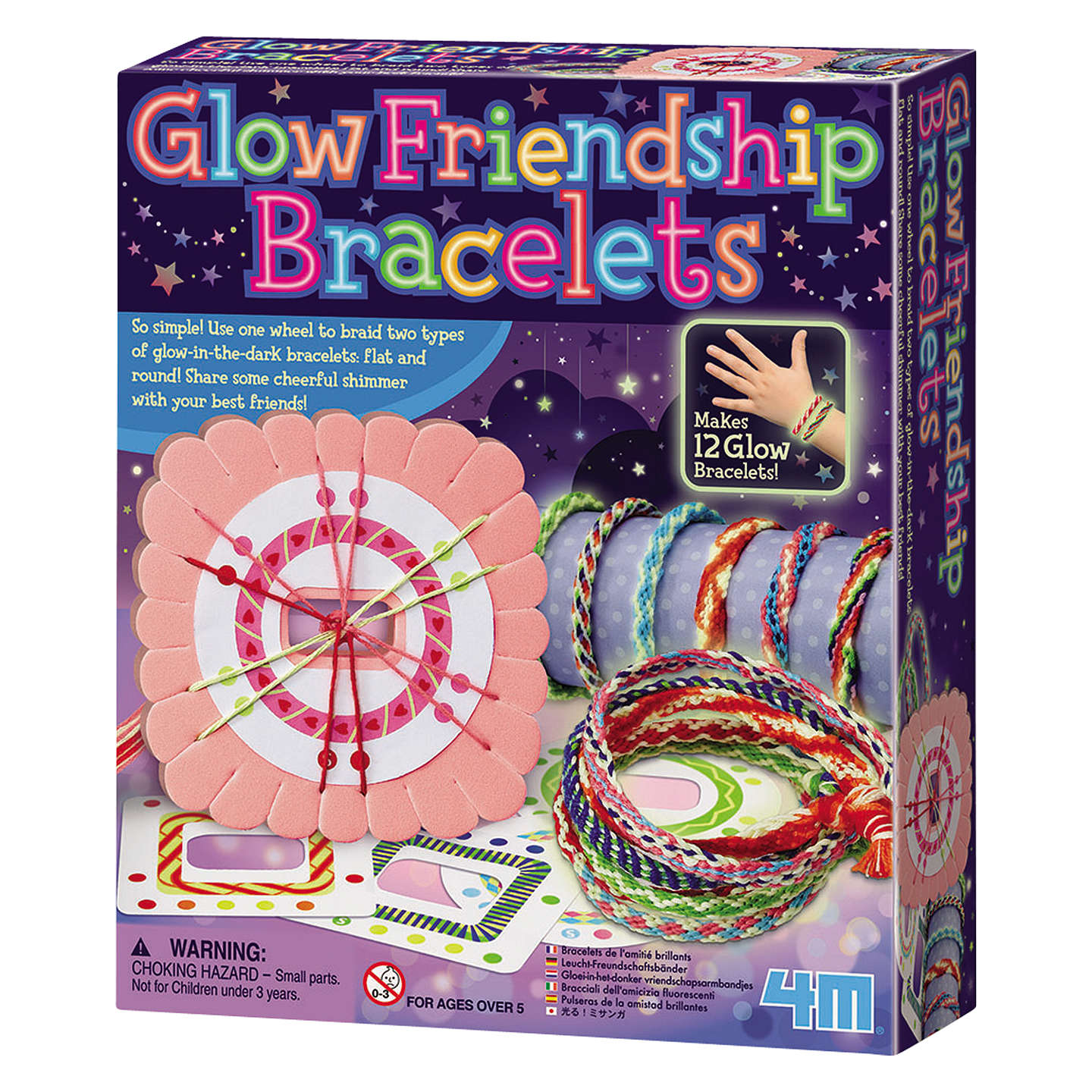 BuyGreat Gizmos Glow Friendship Bracelets Kit Online at johnlewis.com