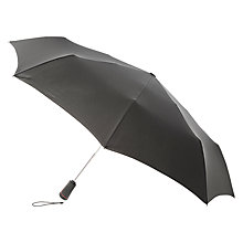 Buy Totes XTRA STRONG Auto Open/Close Umbrella, Black Online at johnlewis.com