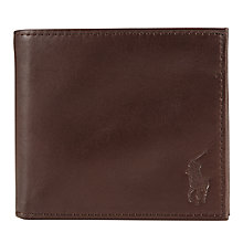 Buy Polo Ralph Lauren Leather Billfold Wallet Online at johnlewis.com