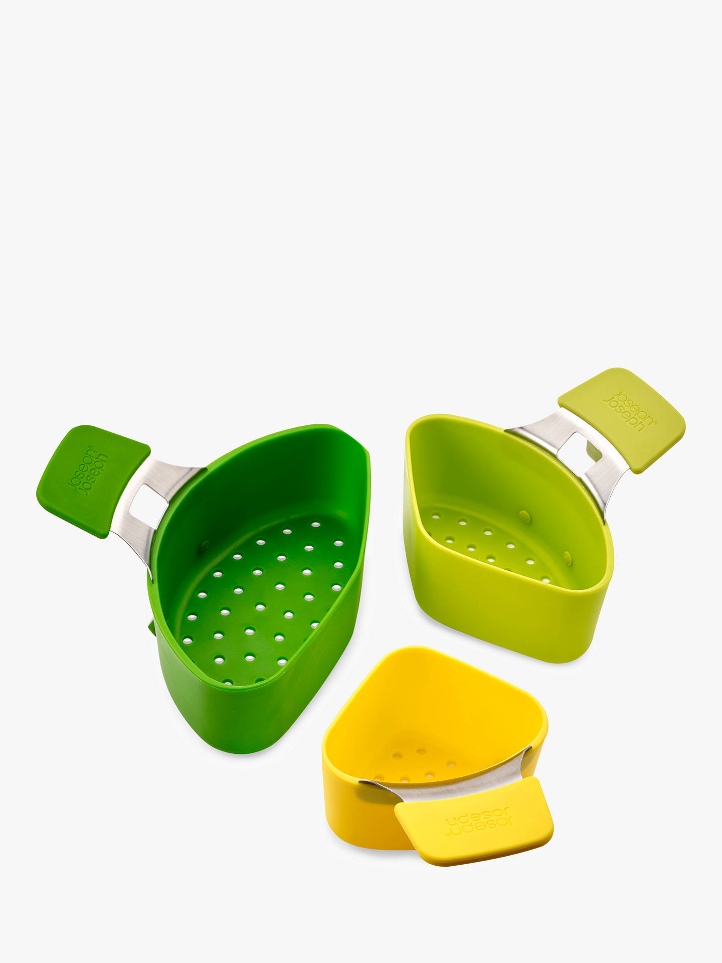 BuyJoseph Joseph Nest Steamer Basket Set, 3 Piece Online at johnlewis.com