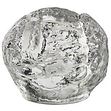 Buy Kosta Boda Snowball Votive Candle Holder Online at johnlewis.com