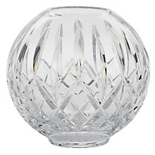Buy Waterford Lismore Rose Lead Crystal Glass Bowl, Clear, Dia.15cm Online at johnlewis.com