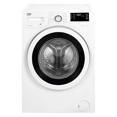 Image of Beko WY85242W Freestanding Washing Machine, 8kg Load, A+++ Energy Rating, 1500rpm Spin, White