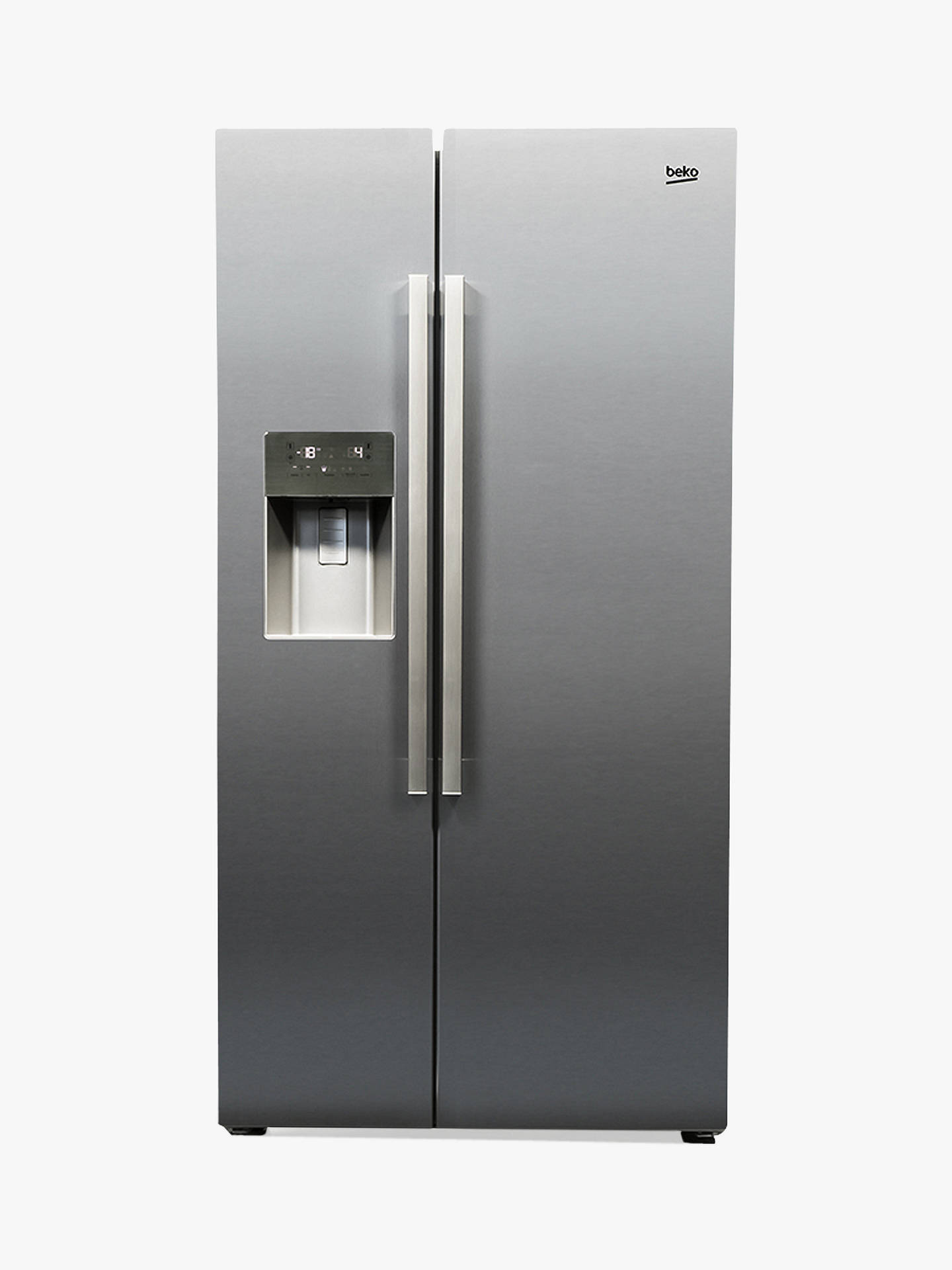 beko asp341x american style fridge freezer a energy. Black Bedroom Furniture Sets. Home Design Ideas